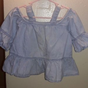 Toddler top lite blue